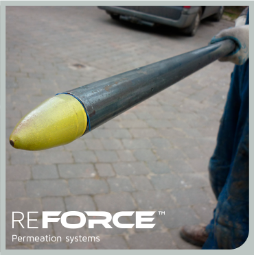 ReForce system for soil stabilisation and underpinning