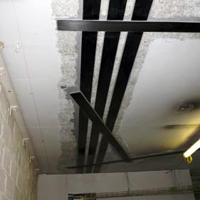 Carbon fibre structural beams