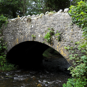 Traditional stone bridge strengthening and restoration project