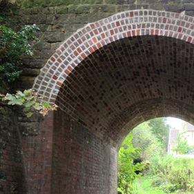 The Rectory Railway arch safe and secure