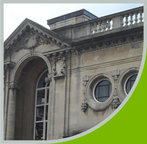 Listed building conservation work on Hove Library