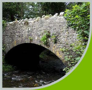 The bridge restoration at Cheritan
