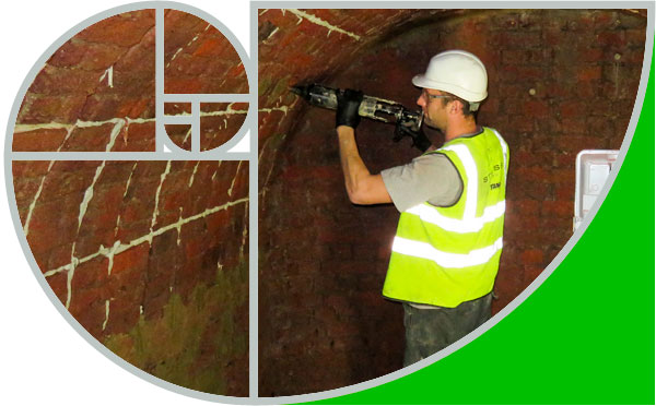 Tunnel maintenance and repair by Goldhawk Bridge Restorations – part of Stress UK