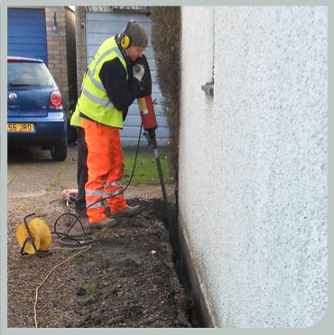 Using the ReFORCE system for slab levelling and jack piling
