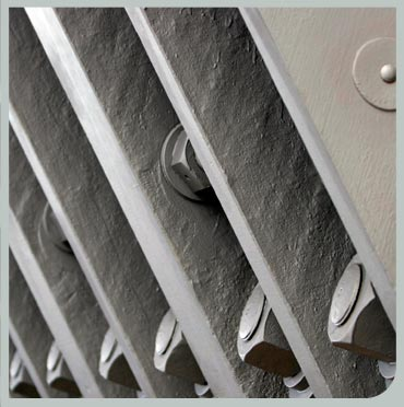 Structural steel for architectural repair, strengthening and bonding