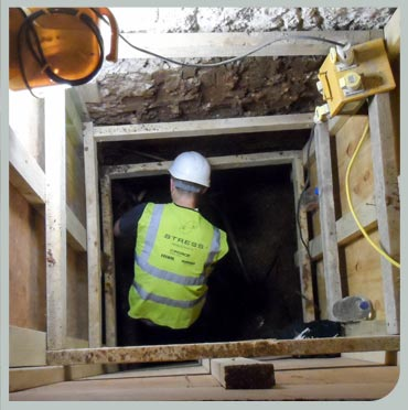 Structural underpinning services by Stress UK